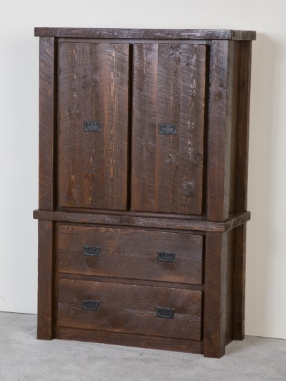 rustic dressers chests mirrors and armoires. Black Bedroom Furniture Sets. Home Design Ideas
