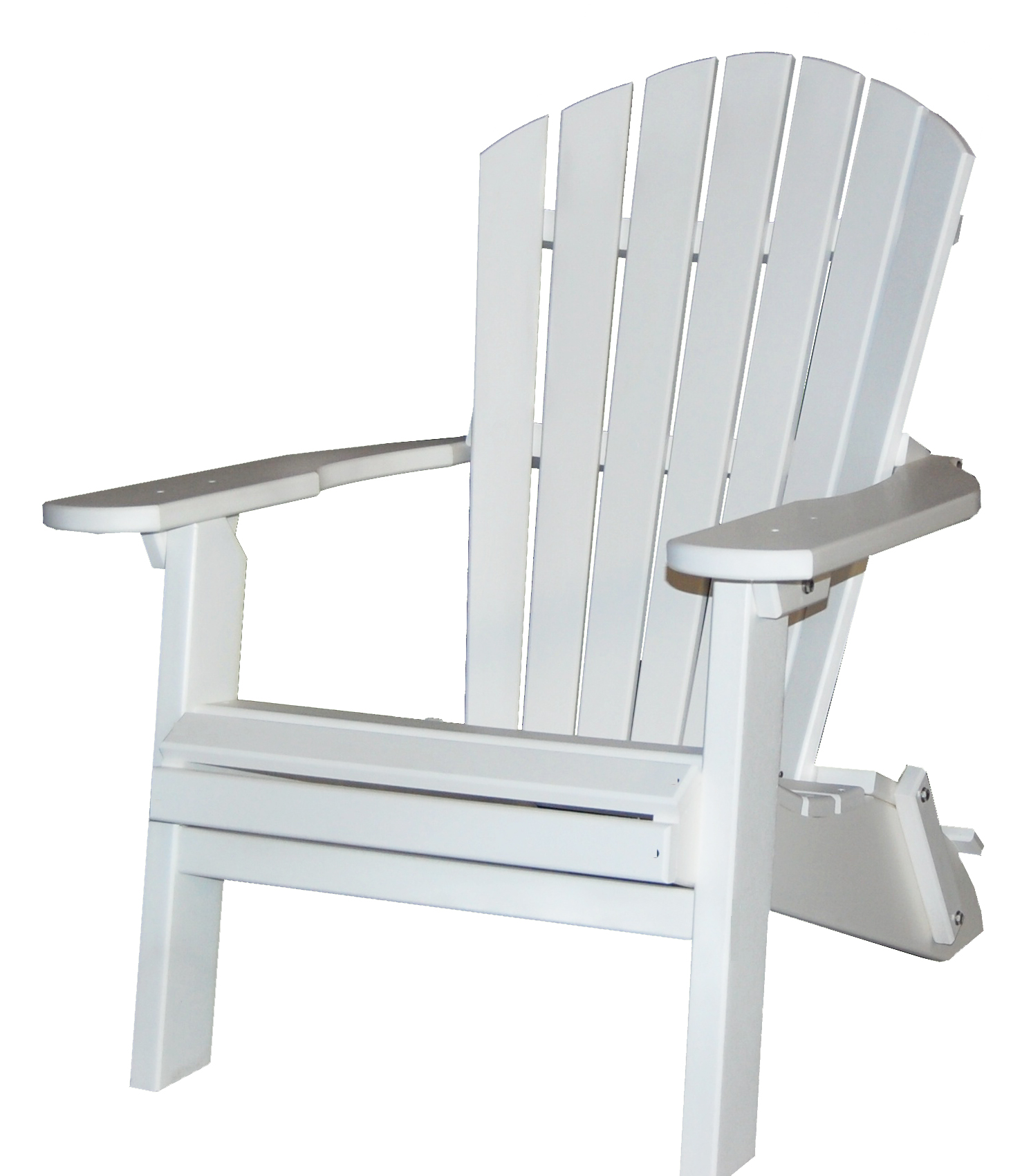 Folding Poly Wood Adirondack Chair