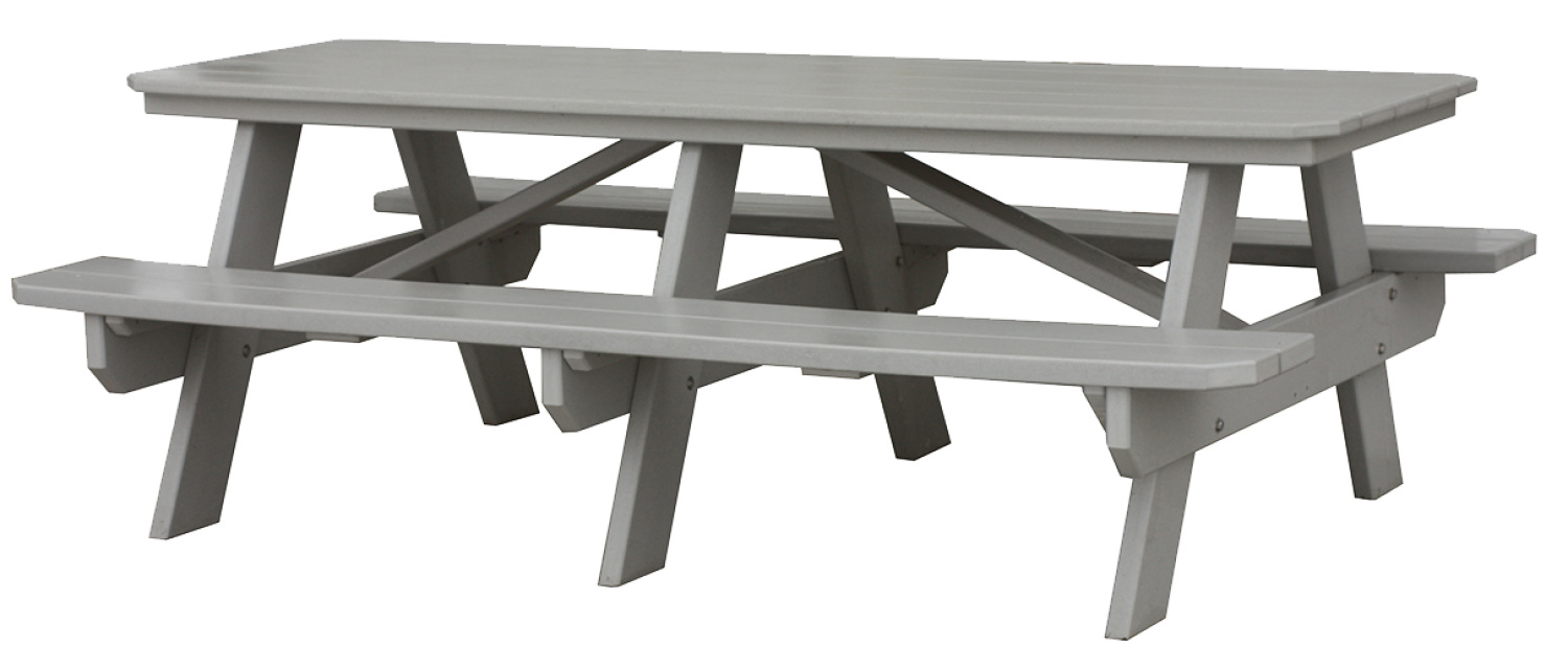Poly Wood Picnic Table Available In 4 Lengths
