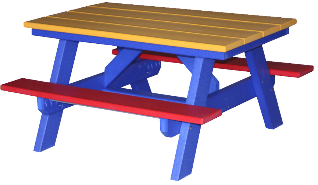 Children S Poly Wood Picnic Table
