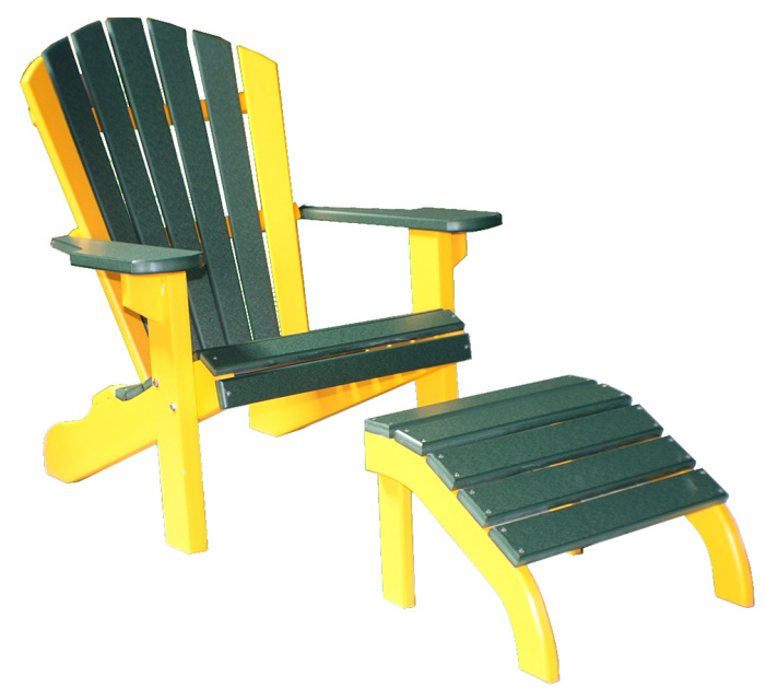 Classic Poly Wood Beach Chair